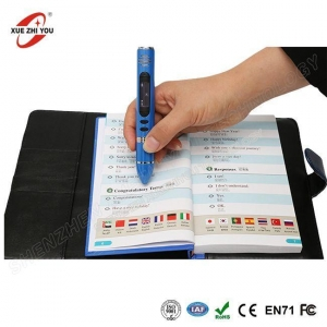 China Best Gift for Kids Christmas and Education Magic Speaking Books Pen Reader and Scanner on sale