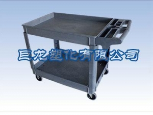 China Precious metal dedicated box Two-Layer Small Tool Cart on sale