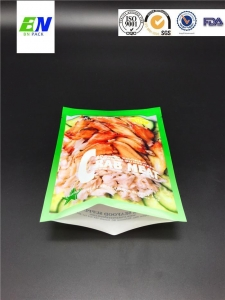 China Printing Heat Sealed Stand Up Crab Meat Plastic Packaging Bag Food Packaging Pouch on sale