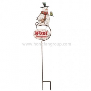 China Cast Iron Decorative Garden Stakes for Wholesale on sale
