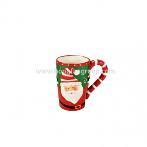 China Chinese Porcelain Santa Claus Tea Cup on sale