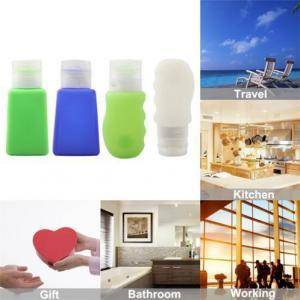 China Popular Silicone Mini Empty Travel Bottles on sale