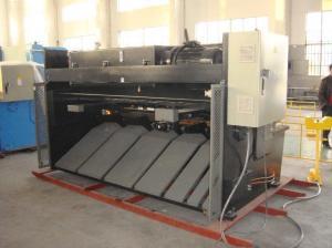 China QC12K CNC Hydraulic Swing Beam plate Shearing Machine on sale