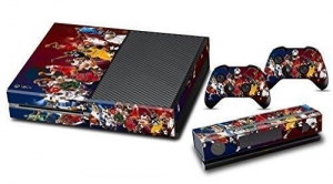 China Designer Skin Sticker Decal for Xbox One Console + Two Free Wireless Controller Decals- Basketball on sale