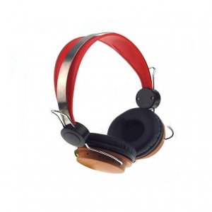 China WiredEarphone Headband Wood Headphone on sale