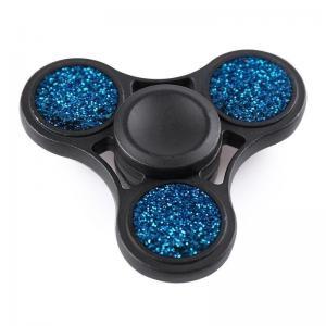 China Cheap Anti-Stress Toy Glitter Fidget Metal Spinner on sale