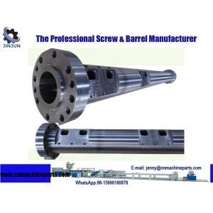 China Customize Pipe Extruder Bimetallic Single Screw Barrel on sale