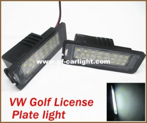 China LED License Plate Light Volkswagen VW Golf GTi MK4 MK5 on sale