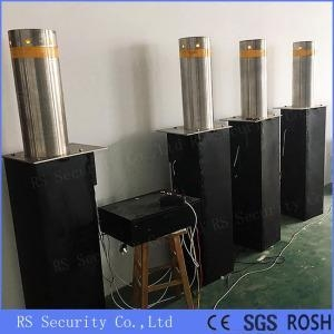 China Full Automatic Traffic Blockers Electric Rising Bollards on sale