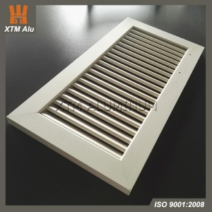 China Extruded Aluminum Vents Linear Bar Grille Air Diffuser on sale