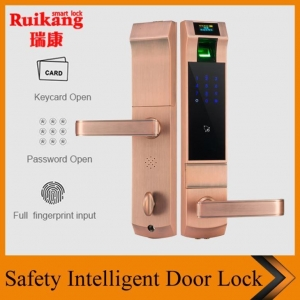 China Google Electronic Touch Keyless August Smart Password Door Lock on sale
