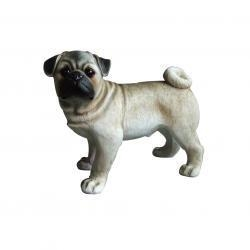 China Super submersible pump resin Pug Dog Statue/Sculpture for decoration on sale