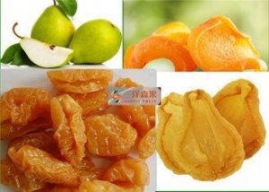 China Hygienic Pear Freeze Dried Fruit With High Nutritional Value Delicious Taste on sale