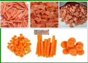 China Healthy Snack Freeze - Dried Carrotsor Instant Meals Nothing Added FD Food on sale