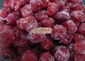 China FROZEN FRUIT sweet pitted IQF cherry / New crop Frozen sour cherry on sale