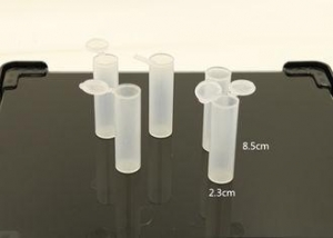 China Eco Friendly Transparent Clear Plastic Packaging Tubes With Food Safe Approved on sale