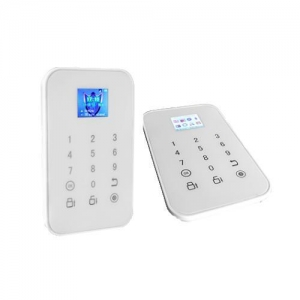 China Touch panel GSM Intelligent Alarm System on sale