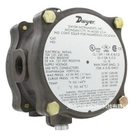 China Dwyer explosion-proof differential pressure switch on sale