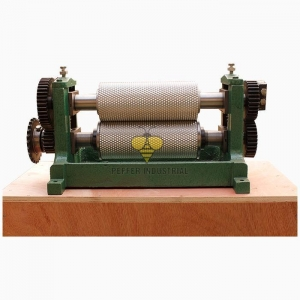 China Aluminum Alloy Roller Manual Beeswax Comb Foundation Machine on sale