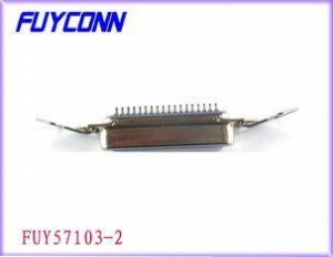 China 14 Pin Centronic Clip Female SMT Connector For 1.6mm PCB Board Certificated UL on sale