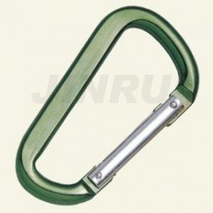 China ALUMINUM SNAP HOOK D TYPE WITH PIN on sale