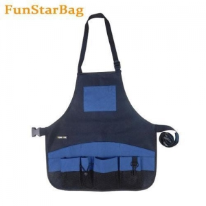 China Waxed Canvas Tool Apron Water Resistance Canvas Work Apron on sale