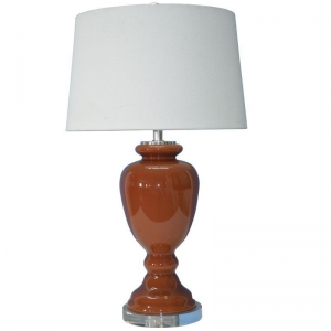 China Glass table lamp on sale