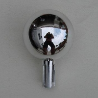 Chrome BallFlapgpole Topper
