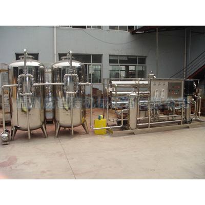 China 10 tons of water softening equipment
