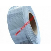 China Reflective Materials Red and White Self-adhesive Reflective Tape on sale