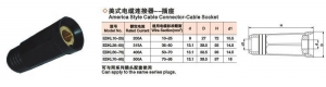 China America Style Cable Connector-Cable Socket on sale