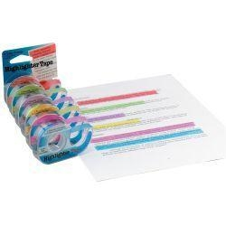 China Classroom & Office Removable Highlighter Tape on sale