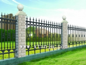 China Ornamental Steel Fence DK001 on sale