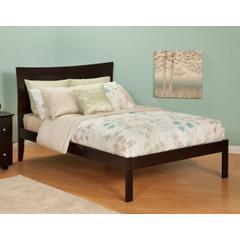 China Finley Grey Linen Platform Bed on sale