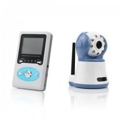 China 2.4 Wireless Digital Baby Monitor Talk Camera IR Video on sale
