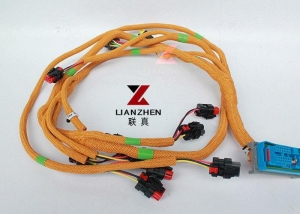 China C6.4 Excavator Wiring Harness , 320D Caterpillar Engine Parts 296-4617 E320D on sale