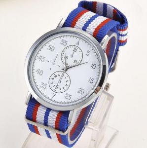 China Stainless Steel Back Water Resistant Quartz Mens Sport Watches Geneva Quartz Watch Alloy on sale