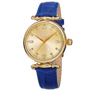 China Blue Leather Band Bracelet Wrist Quartz Trending Ladies Watches on sale