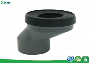 China Non Toxic Pan Connector / WC Waste Connector Different Size Available on sale