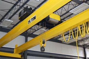 China Double Girder Electric Overhead Travelling Crane on sale