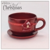 China Christmas decoration Christmas decoration planter for sale