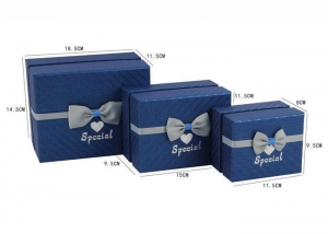 China Customized Paper Gift Box / Empty Storage Boxes With Crack Resistant on sale