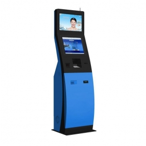China Self Ordering Payment Kiosk Desk Top Kiosk with Printer on sale