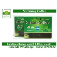 China Natural Herbal Slimming Tea Health Green Coffee Bean Extract For Control Appetite on sale