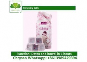 China Fat Burner Slimming Jelly , Natural Plant Extract Detox Jelly For Weight Loss on sale