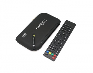China Vanilia Amlogic S805 Android 4.4 TV Box OTT+S2 Quad Core Satellite Receiver DVB S2 Set Top TV Box on sale