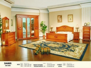 China Solid Oak Bedroom Furniture Da805 on sale