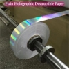 China Ultra Destructible Tamper Evident Label Material , 3D Hologram Stickers for sale