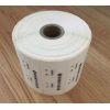 China Digital Number Security Void Tape 1000pcs Per Roll For Product Boxes for sale