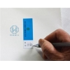 China Signature Bank Checking Non Residue Security Labels With White Writing Paper for sale
